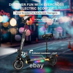 10'' Folding Electric Scooter 28MPH 10AH E-Scooter 800w Motor For Adults