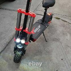 2020 Electric Adult Scooter Commute Q18 500w 10.4Ah 48v with Seat Off road