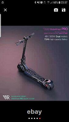 2020 Newest Mercane WideWheel Pro Kickscooter 48V 1000W 15 Ah Electric Scooter