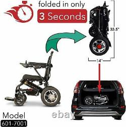 2021 Model Fold Travel Lightweight Heavy Duty Electric Power Scooter Wheelchair