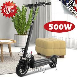 250W Max Range 38 Miles Electric Scooter for Adults Lightweight Commuter Scooter