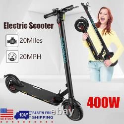 300W Electric Scooter for Adult Commute, 265lbs Max. Load, 20 Mph, 20Miles Max Range