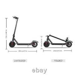 350W 400W Electric Foldable Scooter, 15.8 Miles Range, Cruise Control