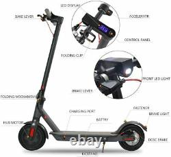 350W Motor Electric Scooter 15.6 MPH 18.6 Miles 8.5 Non-Pneumatic for Adult