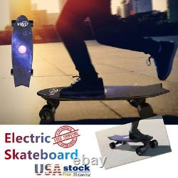 350W Wirless Remote Control Electric Skateboard 3 Speed 72/83mm Hub Motor/
