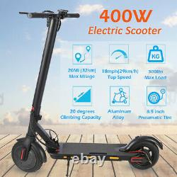 400W / 250W Folding Electric Scooter / Non E-Scooter Adult Safe Urban Commuter