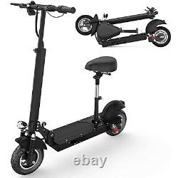 500W Foldable Electric Scooter, Max 25 MPH, Removable Seat&19 Miles Long Range