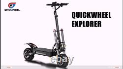 60V 5400W Foldable Dual Motor Topline Off-road Electric Scooter For Adults