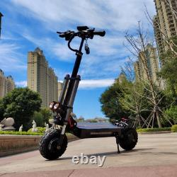 60V 5600W Electric Scooter 11inch Motor Wheel Off Road With Seat Dual 75-90km/h