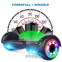 6.5'' All-Terrain Hoverboard Self Balance Adult Kids Scooter Bluetooth UL no Bag