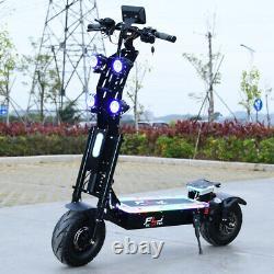 72V 8000W 13inch fat wheel E Scooter 90-130kms range 90km/h FLJ