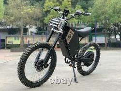 72V 8000W Adult Electric Full Suspension Off-road E Dirt Bike Motorcycle 65MPH+