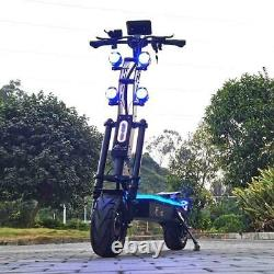 72v 8000w 13 Fat Wheel Electric Scooter with 90-130kms Range 90kmh Speed Dual NEW