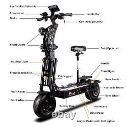 72v 8000w 13inch Fat Wheel Electric Scooter With 90-130kms Range 90kmh Speed Dual