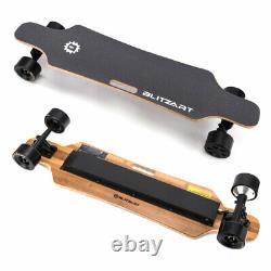 BLITZART Huracane 38 Electric Skateboard Longboard 350W Hub-Motor 3.5 Wheels