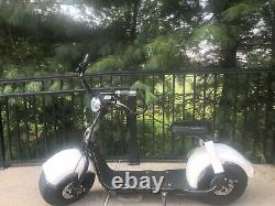 CityCoCo Electric Harley Adult Scooter WITH ALARM 1 YEAR WARRANTY