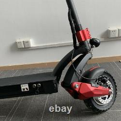 DUALMOTO 10INCH 52V18Ah 2000W Powerful Off Road Electric Scooter Around 60 Miles