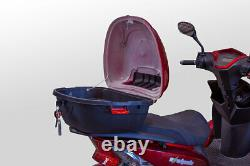 EWheels EW-14 4 Four Wheel RED Electric Mobility Scooter 15MPH 40 Miles NOTAX
