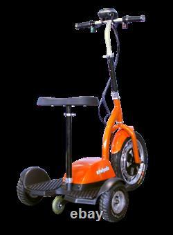 EWheels EW-18 Electric 3 Wheel Mobility Scooter Sit or Stand 350W Orange 15mph