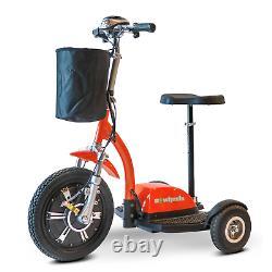 EWheels EW-18 Electric 3 Wheel Mobility Scooter Stand-or-Ride 500W 25 Mi