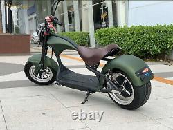 E-Scooter Street Legal Scooter With Big Wheels 20000W 40km 45km/h 60v EEC Bike