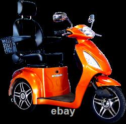 E-Wheels EW-36 Recreational Electric Mobility Scooter, 350lbs, Fast 15 mph, New