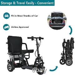 EazinGo Folding Electric Mobility Scooter Lightweight Portable Travel Scooter