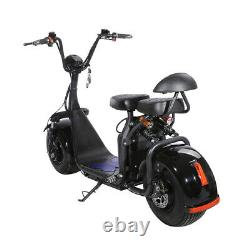 Electric Bike Fat Tire Scooter 2000 watts 20 Ah Lithium Battery X7 US Flag