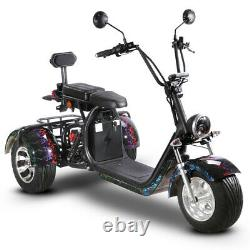 Electric Golf Course Cart 3 wheels Citycoco Scooter 2000 Watts SoverSky T7.1