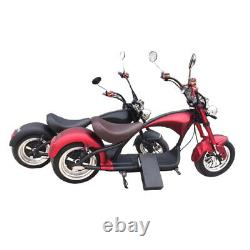 Electric Motorcycle Chopper 2000W 60V/20Ah Lithium-Ion Battery Citycoco M1