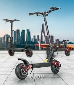 Electric Scooter 10 inch Wheels. 52v 20.8Ah Battery. 1000W, Disc Brakes. Folds