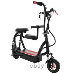 Electric Scooter 7.5MPH 4.5AH Folding E-Scooter 120w Motor For Adults with 2Seat