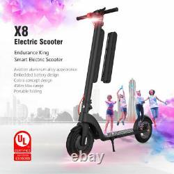 Electric Scooter Adult, 28m Long Range Folding Kick E-scooter Safe Urban Commuter