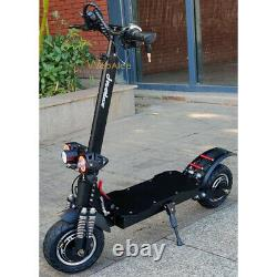 Electric Scooter Adult Dual Motor 10inch Tires Foldable 70 Km/h 60v 2400w 24Ah