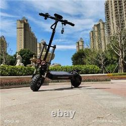 Electric Scooter Adult Dual Motor 11inch Off Road Tires Fast 85 km/h 60v 5600w