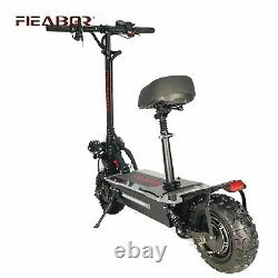 Electric Scooter Adult Dual Motor 11inch Off Road Tires Fast Speed 60v 5600w New