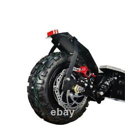Electric Scooter Adult Dual motor 11inch off road tires Fast Speed 60v 5600W