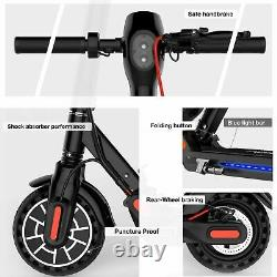 Electric Scooter Adult, Long Range 22 Miles Folding E-scooter Safe Urban Commuter