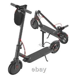 Electric Scooter Adult, Portable Folding, 8.5Tire 350W up to 15.8 Miles, Black