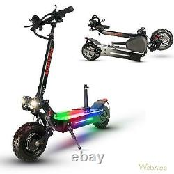Electric Scooter Dual Motor Adult 11inch Off Road Tires Fast Speed 60v 5600w