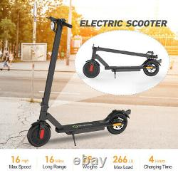 Electric Scooter Foldable 16 Miles Long Range Commute 8.5 Adults Kick Scooter