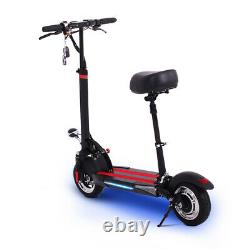 Electric Scooter Folding Portable Rechargeable 8AH Battery with Paddle and LEDs