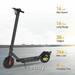 Electric Scooter Long Range Folding Adult Kick E-scooter Safe Urban Commuter