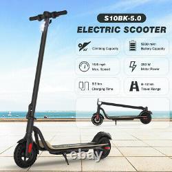 Electric Scooter Long Range Folding Adult Kick E-scooter Safe Urban Commuter Us