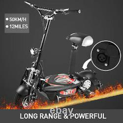 Electric Scooter for Adults with 1000W Motor, Folding Portable Off-Road Scooter