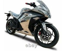 Electric motorcycle adult 20000w 72v battery 100+ mph 100+ miles range