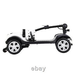 Foldable Mobility Scooter Automated Electric Power Scooter 4 Wheel Drive Travel
