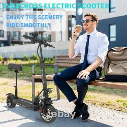 Folding Electric Scooter 30MPH 10AH E-Scooter 800w Motor For Adults Black