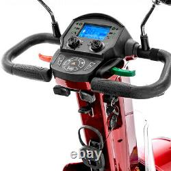 Gatsby X Vintage Full Size Fast Mobility Scooter Long Range Red