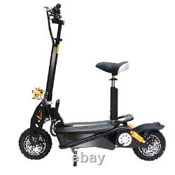 Gauss Electric Scooter Powerboard E Scooter 48v 1800W Black Off-road 12 Tyres